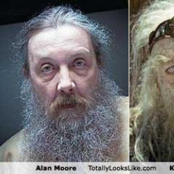Author Alan Moore