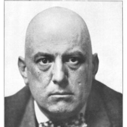 Author Aleister Crowley