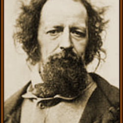 Author Alfred Lord Tennyson