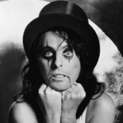 Author Alice Cooper