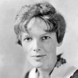 Author Amelia Earhart