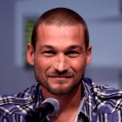 Author Andy Whitfield