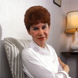 Author Anita Brookner