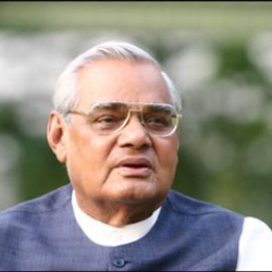 Author Atal Bihari Vajpayee