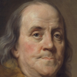 Author Benjamin Franklin