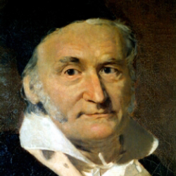 Author Carl Friedrich Gauss