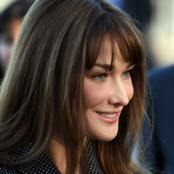 Author Carla Bruni