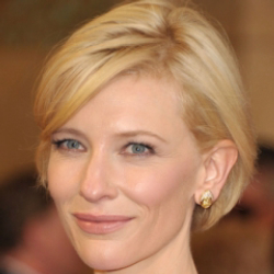 Author Cate Blanchett