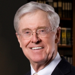 Author Charles Koch