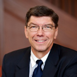 Author Clayton Christensen