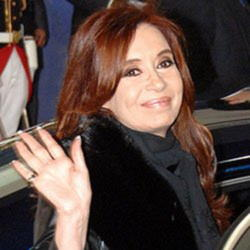 Author Cristina Kirchner