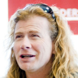 Author Dave Mustaine