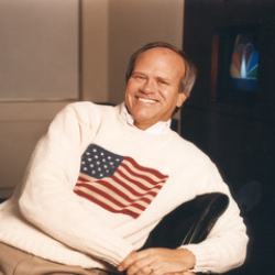 Author Dick Ebersol