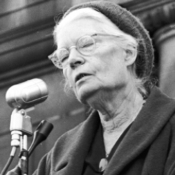 Author Dorothy Day