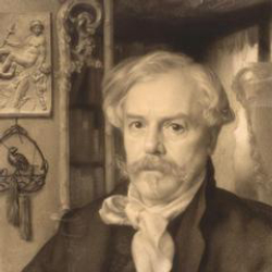 Author Edmond de Goncourt