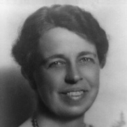 Author Eleanor Roosevelt