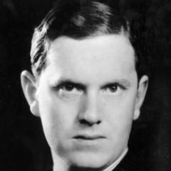 Author Evelyn Waugh