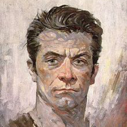 Author Frank Frazetta