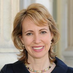 Author Gabrielle Giffords