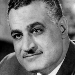Author Gamal Abdel Nasser