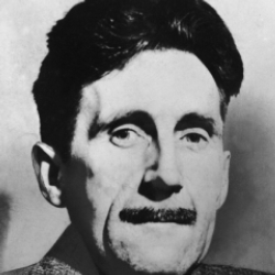 Author George Orwell