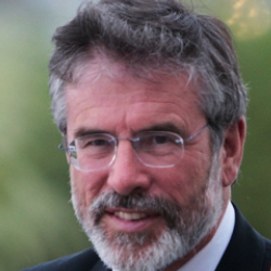 Author Gerry Adams