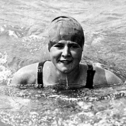 Author Gertrude Ederle