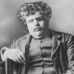 Author Gilbert K. Chesterton