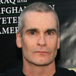 Author Henry Rollins