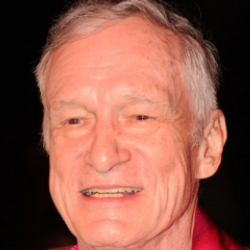 Author Hugh Hefner