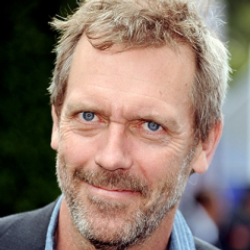 Author Hugh Laurie