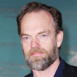 Author Hugo Weaving