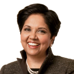 Author Indra Nooyi