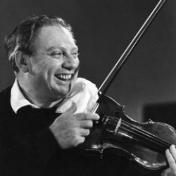 Author Isaac Stern