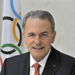 Author Jacques Rogge