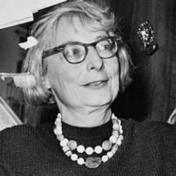 Author Jane Jacobs