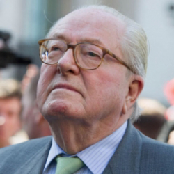 Author Jean-Marie Le Pen