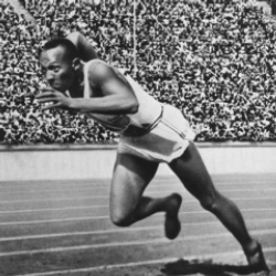 Author Jesse Owens