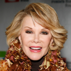 Author Joan Rivers