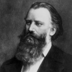 Author Johannes Brahms