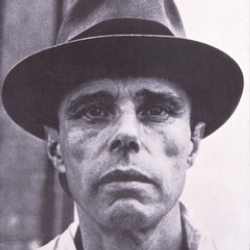 Author Joseph Beuys