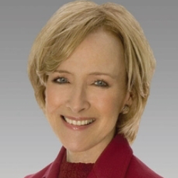 Author Judy Woodruff
