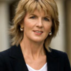 Author Julie Bishop