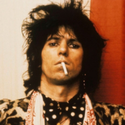 Author Keith Richards