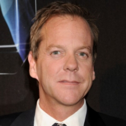 Author Kiefer Sutherland