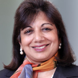 Author Kiran Mazumdar-Shaw