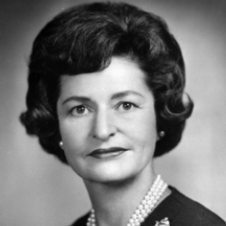 Author Lady Bird Johnson