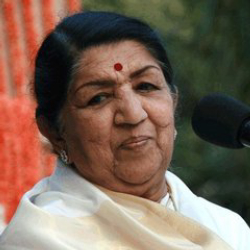 Author Lata Mangeshkar