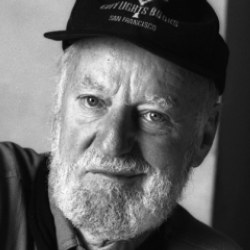 Author Lawrence Ferlinghetti