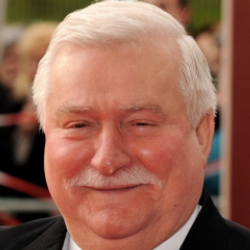 Author Lech Walesa